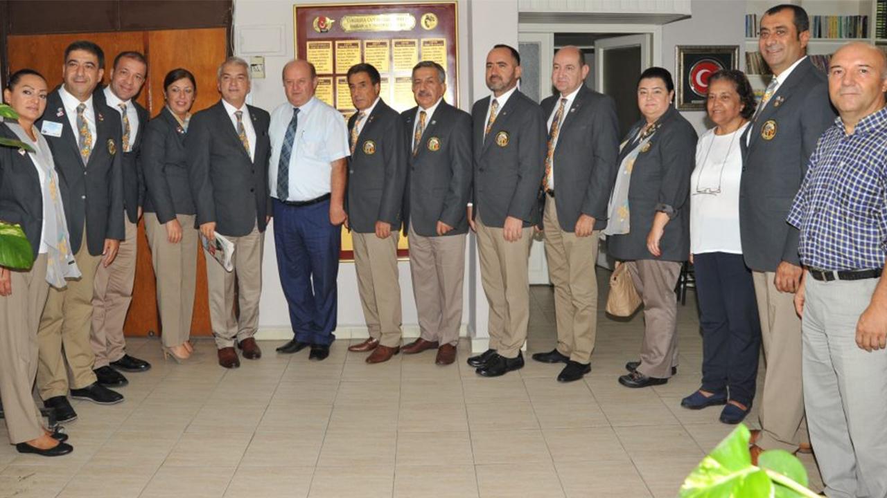 Rotary Kulüpleri'nden  ÇGC'ye ziyaret