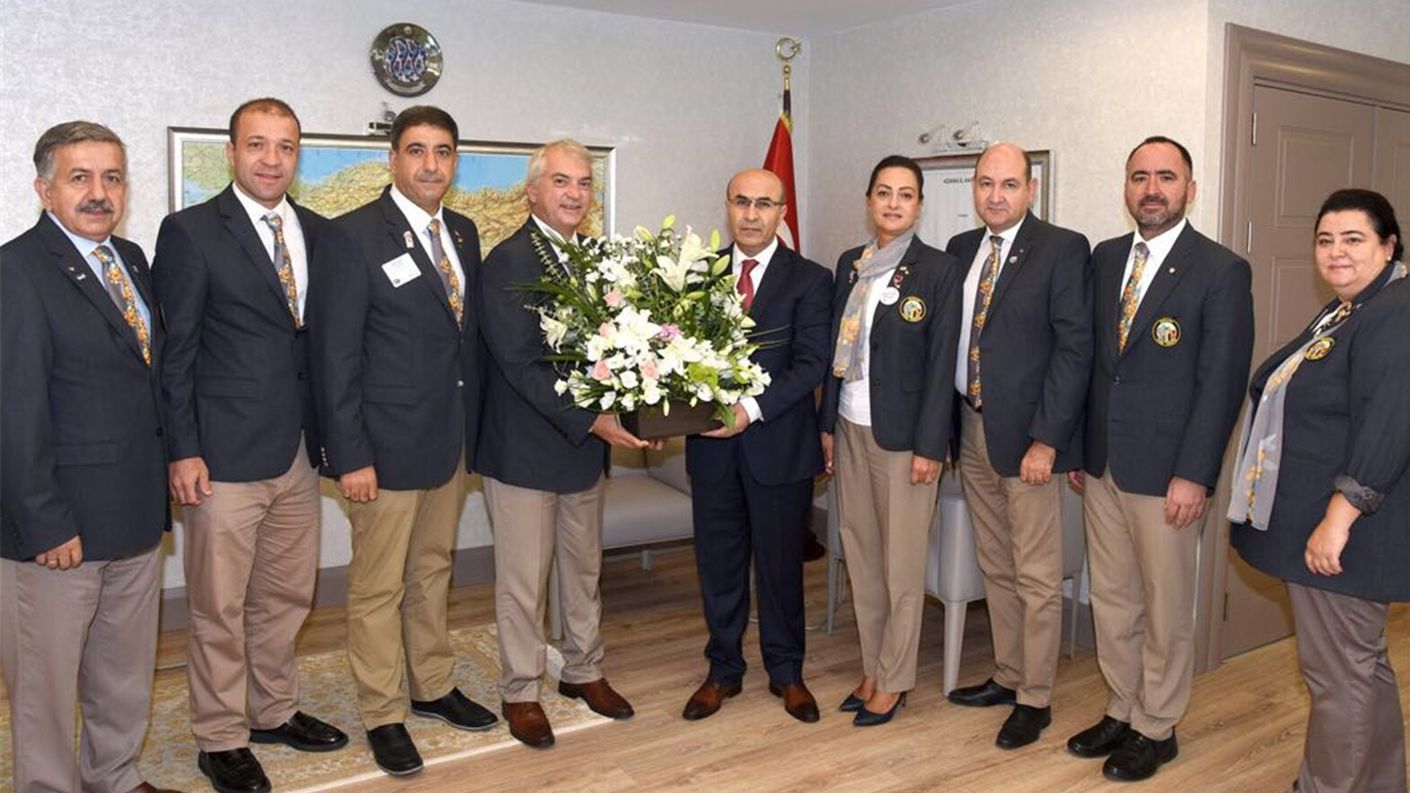 Adana Valisi Mahmut Demirtaş Ziyareti