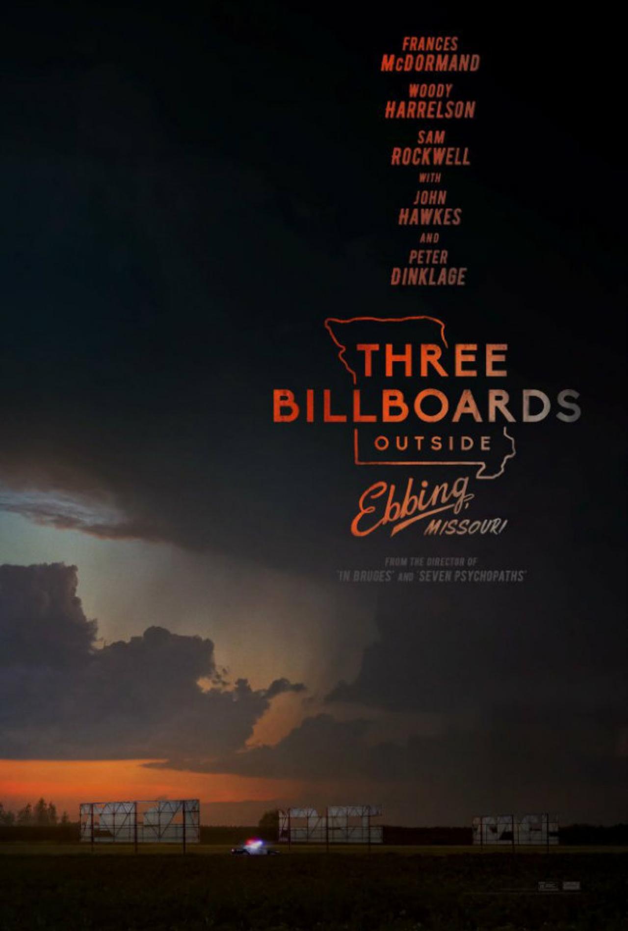 HAFTANIN FİLMİ : THREE BILLBOARDS OUTSIDE EBBING,MISSOURI