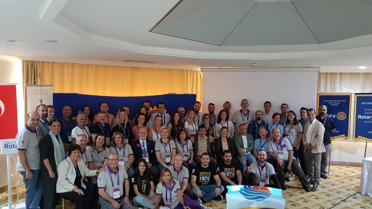 3-4 Kasım Yeni üye uyum kampı Seyhan Rotary sorumluluğunda gerçekleşti