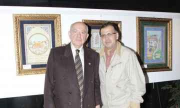 Geleneğin İzinden Adlı Geleneksel Türk Sanatları Sergisi'nin Açılışındaydık