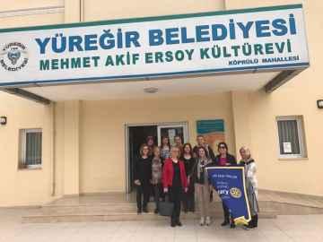 Yüreğir Mehmet Akif Ersoy Kültür Merkezindeki Meslek Edindirme Kursu'na