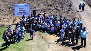 Rotary Hatıra Ormanı Açılışı