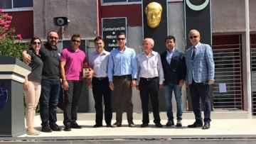 Seyhan Rotary Anadolu Lisesi Atatürk Büstü ve Kürsü Alanı Açılışı Yapıldı