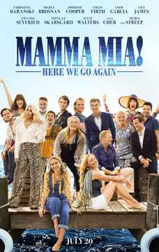 HAFTANIN FİLMİ : MAMMA MİA ! YENİDEN BAŞLIYORUZ (MAMMA MIA ! HERE WE GO AGAIN)
